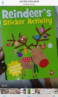Buku bbw (reindeer's sticker book)