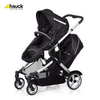 Hauck twin stroller
