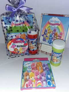 Personalised Care  Bears Party Favours