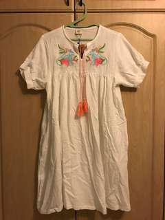 Embroidered Dress BNWT
