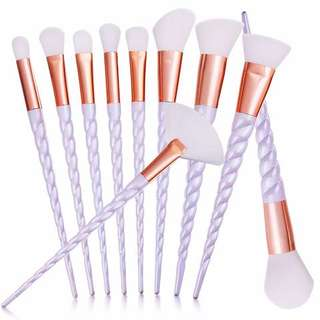 PO Unicorn Makeup Brush Set