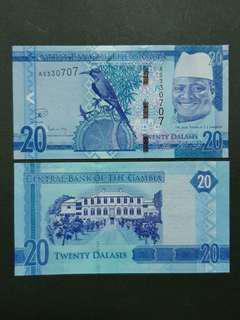 Gambia 20 Dalasis 🇬🇲 !!!