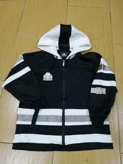 Kappa jacket with hoodie