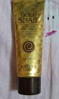 Nature inside hand cream