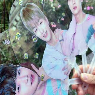Wanna One Transparent Handfan