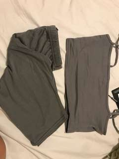 Matching biker shorts Uk4 Us 0