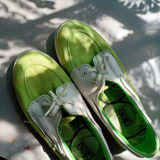 Sperry inspired Slip-On Shoes