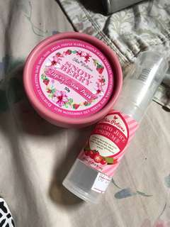 Skin potions tomato serum / snow berry
