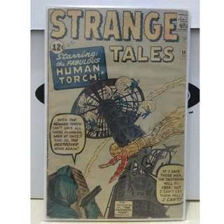 Strange Tales #101 - 1st Silver Age solo appearance of the Human Torch (Fantastic Four)