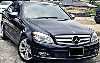 SAMBUNG BAYAR / CONTINUE LOAN  MERCEDES C200 KOMPRESSOR SE LEATHER SEAT
