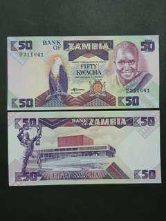 Zambia 50 Kwacha 🇿🇲 !!!