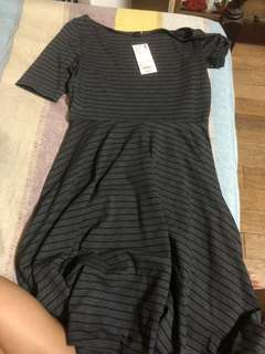 Uniqlo Striped Dress Short Sleeves 💖