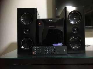 LG audio system