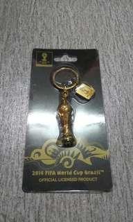 Keychain Rasmi Piala Dunia FIFA Brazil 2014
