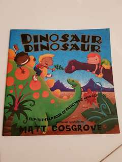 Dinosaur Dinosaur Lift the Flap book(new)
