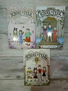 School of Fear Series by Gitty Daneshvari