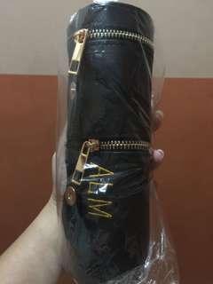 customized pen capsules w/ metallic zipper