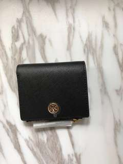 Tory Burch 兩折錢包連散紙位Robinson Mini wallet 全新