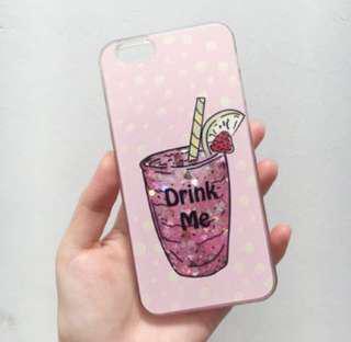 Iphone 6 / 6s glitter cas