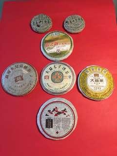 精緻普洱茶套裝:小餅茶精配自用,品嚐及收藏套裝(如相片及以下描述/所示)