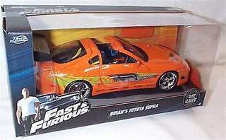 Fast & Furious Brian's Supra 1:24 Diecast