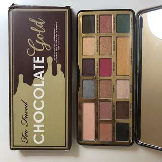 Too faced chocolate gold bar eyeshadow palette replica
