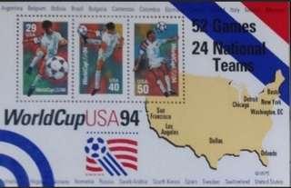 WorldCup USA 94 美國世界盃小全張