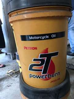 Motorcycle Oil 18liters