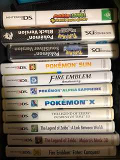 3DS + DS games