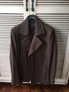 Forever 21 for Men Brown Coat