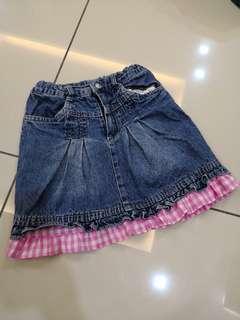 Elfon Doll Denim Skirt (6-7y)