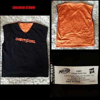 NERF Original Dart Tag Vest for kids age 8 years old.