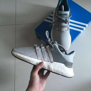 (US7.5)Adidas EQT Support Boost 93/17 Welding Pack Grey