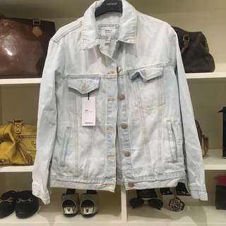 Forever 21 boyfriend denim jacket
