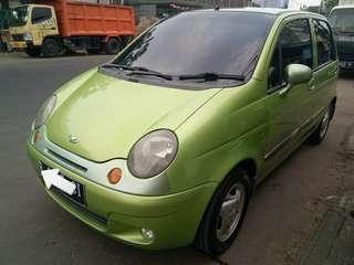 Mobil Daewoo Matiz SE 2002