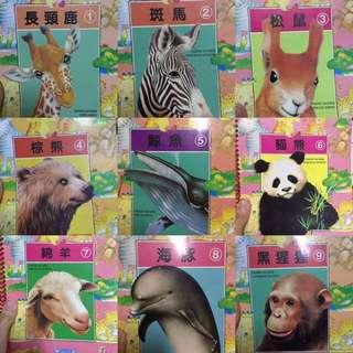 二手動物系列童書20本