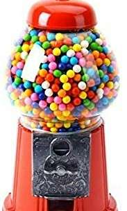 Vintage candy dispensing machine