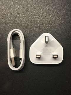 原廠Apple Lightning充電線及插頭