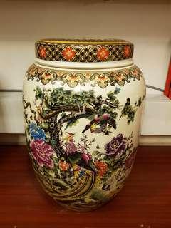 Phoenix Porcelain Jar
