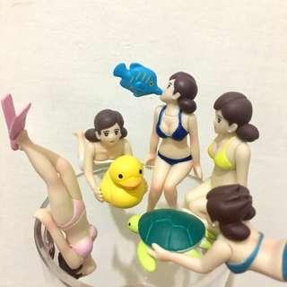 現貨 挑款 泡澡球 沐浴球 美人魚  比基尼 黃色小鴨 海龜 潛水 吻魚 隱藏版 杯緣子🛁