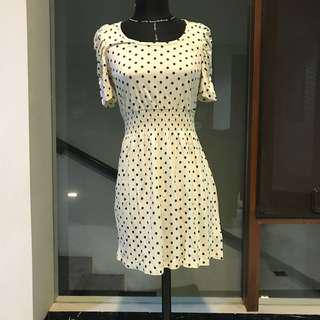 FOREVER 21 POLKADOT DRESS