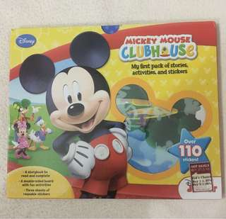 Brand New Authentic Disney Mickey Clubhouse Stories Activates Pack