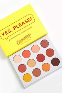 [Authentic] Colourpop Yes Please Eyeshadow Palette