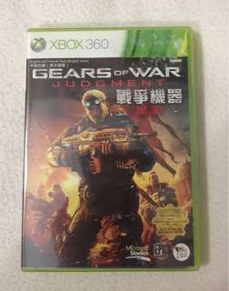 Xbox 360 Game Gears Of War Judgment