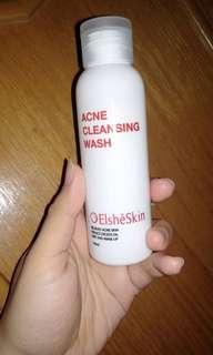 ElsheSkin Acne Cleansing Wash (Untuk Jerawat & Kulit Berminyak) FREE ONGKIR!!!