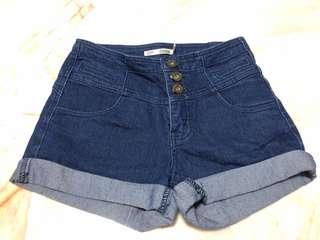 Dorothy Perkins Highwaisted Denim Shorts