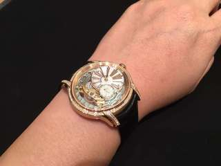 Audemars Piguet Rose Gold Millenary White Mother of Pearl Dial Hand Wind