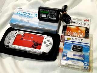Silver PSP Slim 2001 model v6.20 Downloadable