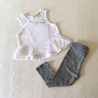 Baby Girl Poney + Mango Set