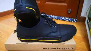 Authentic Dr Martens Pressler Black Sneakers US7 UK6